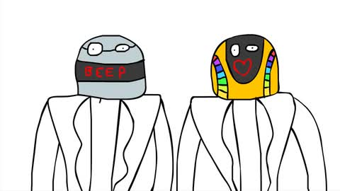 How To Draw Daft Punk - Oliver Age 24